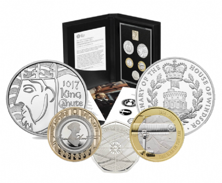 2017 Commemorative Proof set from the Royal Mint